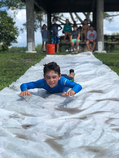 Slipe and slide Summer Camp Florida