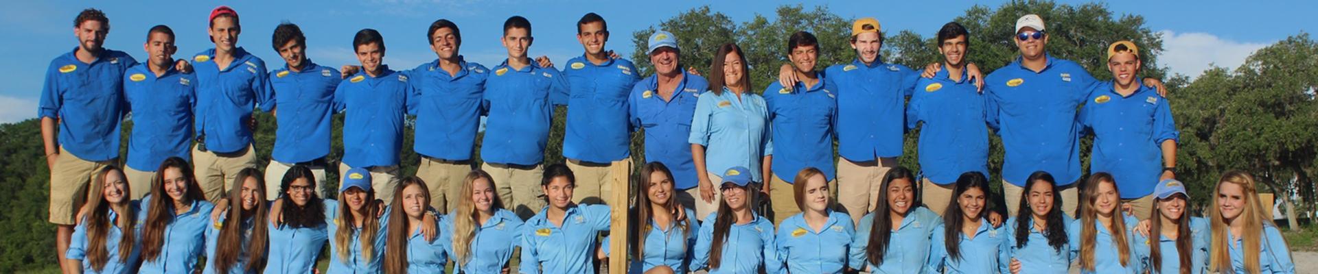 Summer Camp Florida Camp Guaikinima Team
