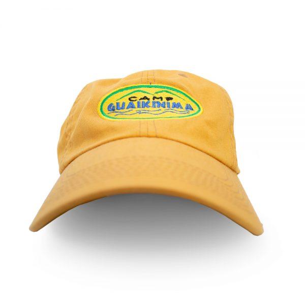 Cap Yellow Summer Camp Florida Camp Guaikinima